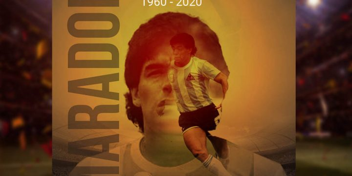 Tribute To Maradona